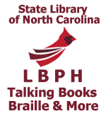 NC LBPH talking books braille and more