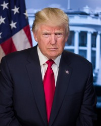 Donald Trump presidential portrait